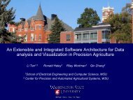 An Extensible and Integrated Software Architecture for Data analysis ...