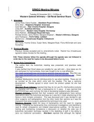 SRNSG Minutes of meeting held in November 2011 - The Scottish ...