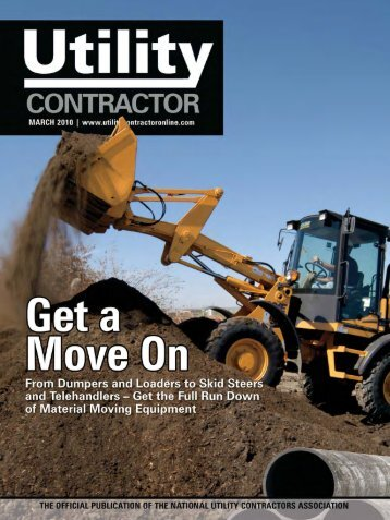 View Full March PDF Issue - Utility Contractor Online