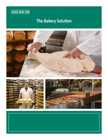 The Bakery Solution - Net@Work