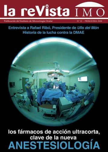 Publicación del Instituto de Microcirugía Ocular - Imo