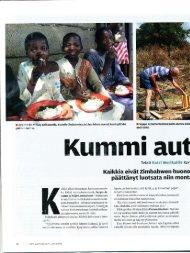 tästä - Zimbabwen Aids-Orvot ry