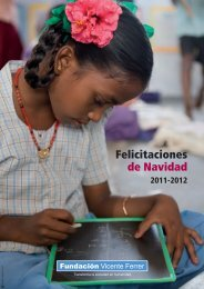 Felicitaciones de Navidad - Fundación Vicente Ferrer
