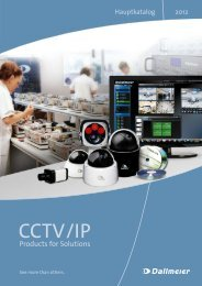 CCTV/IP Products for Solutions - Telcom AG