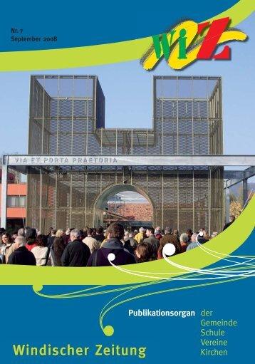 Windischer Zeitung Publikationsorgan