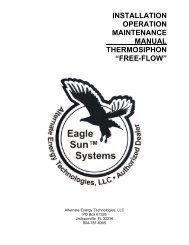 "installation operation maintenance manual thermosiphon ""free-flow"""