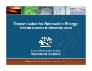 Presentation Materials: Transmission for Renewable Energy