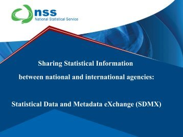 SDMX - National Statistical Service