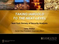 View this Presentation (PDF 882 KB) - Iamgold