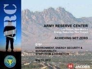 ARMY RESERVE CENTER - E2S2