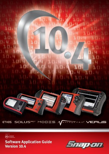 Software Application Guide Version 10.4 - Diag Auto Comm