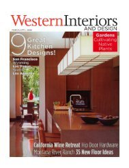 WESTERN INTERIORS March/April 2006 ... - Paula + Martha