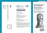"""Forum Friedens- und Sicherheitspolitik """"Krieg der Roboter am 06 ..."""