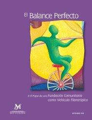 El Balance Perfecto - Charles Stewart Mott Foundation
