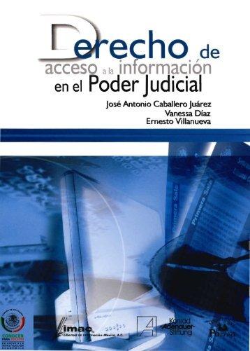 DERECHO DE ACCESO a la información en el poder Judicial.