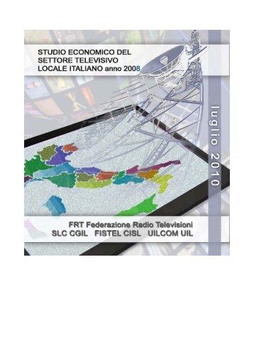 studio economico del settore - Federazione Radio Televisioni