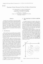 Invariant Gabor Features for Face Evidence Extraction