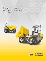Load carriers - Wacker Neuson