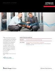 Hitachi Success Story - iseek Communications - Hitachi Data Systems