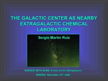 THE GALACTIC CENTER AS NEARBY EXTRAGALACTIC ...