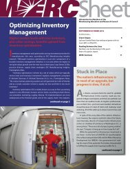 Optimizing Inventory Management - WERC