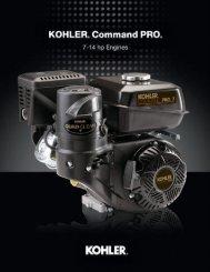 Kohler Command Pro Horizontal 7-14hp.pdf - Cama Products