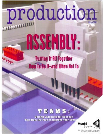 Production - The Best Assembly Is No Assembly - Sandy Munro
