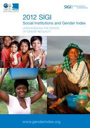 SIGI brochure - OECD