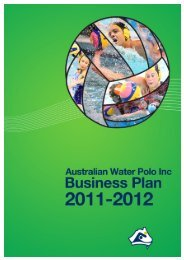 2011-12 Operational Plan - Australian Water Polo Inc