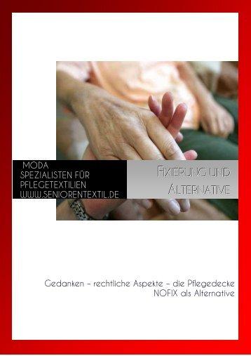 Fixierung und Alternative - Gesamtprospekt ... - Seniorentextil