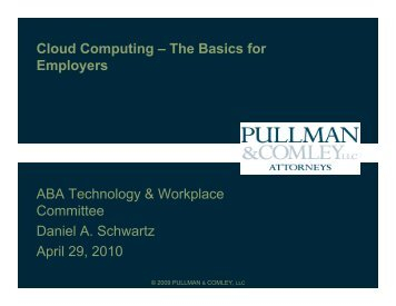Cloud Computing - Connecticut Employment Law Blog