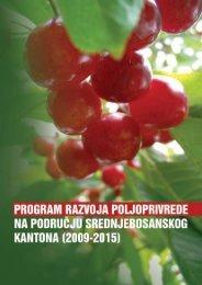 program razvoja poljoprivrede na području srednjobosanskog ... - REZ
