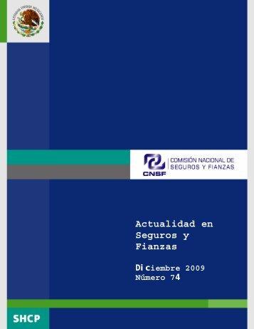 Actualidad en Seguros y Fianzas - CNSF