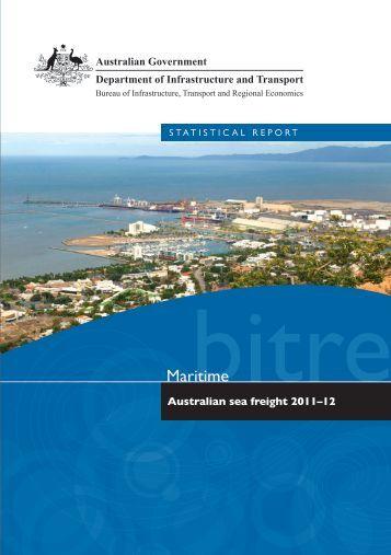 PDF: 3733 KB - Bureau of Infrastructure, Transport and Regional ...