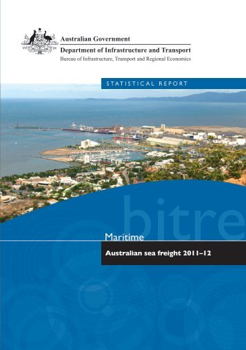 PDF: 3733 KB - Bureau of Infrastructure, Transport and Regional ...
