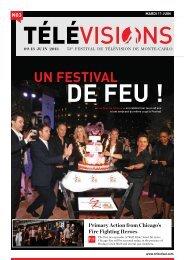 Mardi 11 juin - Festival de télévision de Monte-Carlo