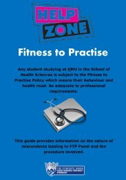 Fitness to Practice Leaflet