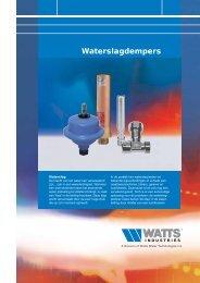 Waterslagdempers - Watts Industries