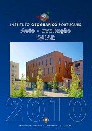 Relatório de Autoavaliação Quar - Instituto Geográfico Português