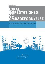 lokal bæredygtighed og områdefornyelse - Dansk Byplanlaboratorium