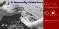 8. Regionale Fachtagung Harz - Limf.de