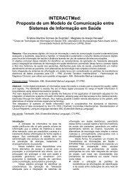 INTERACTMed: Proposta de um Modelo de Comunicação entre ...