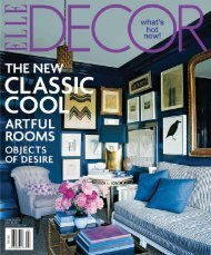 ELLE DECOR March 2010 DOWNLOAD PDF - Paula + Martha