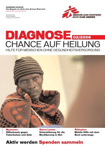 Diagnose 2/2006 - Ärzte ohne Grenzen