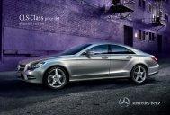 CLS-Class price list - Mercedes-Benz (UK)