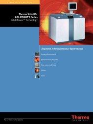 Thermo Scientific ARL ADVANT'X Series IntelliPower ... - spekom