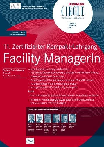 11. Zertifizierter Kompakt-Lehrgang - Felis - Facilitäre Forschungs ...