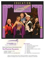 THE PHANTOM TOLLBOOTH - Sandler Center for the Performing Arts