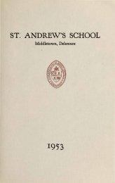 ST: ANDREW,S SCHOOL - Saint Andrew's School Archive