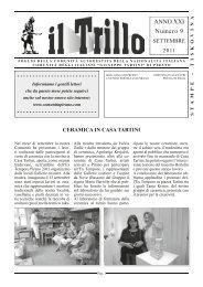 Trillo 09 2011.indd - Comunità degli Italiani di Pirano